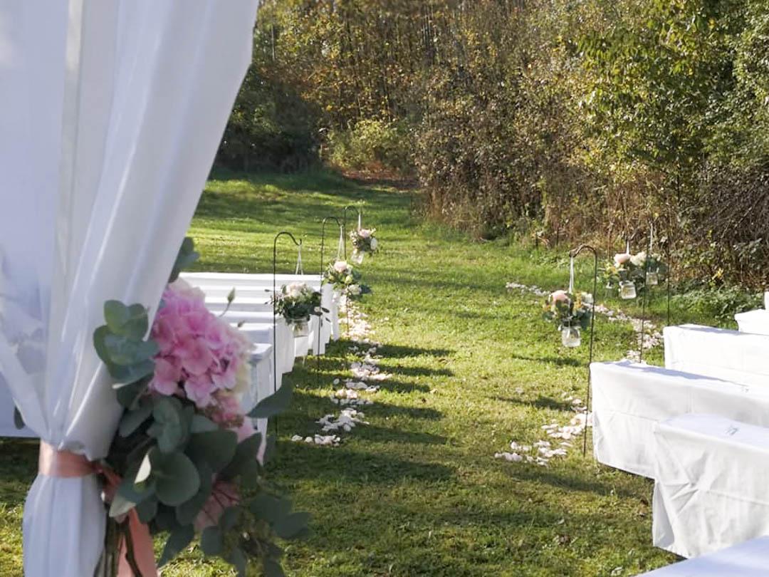 Hochzeitslocation für die freie Trauung