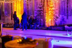 Der Zauberwald für die Weihnachtsfeier
