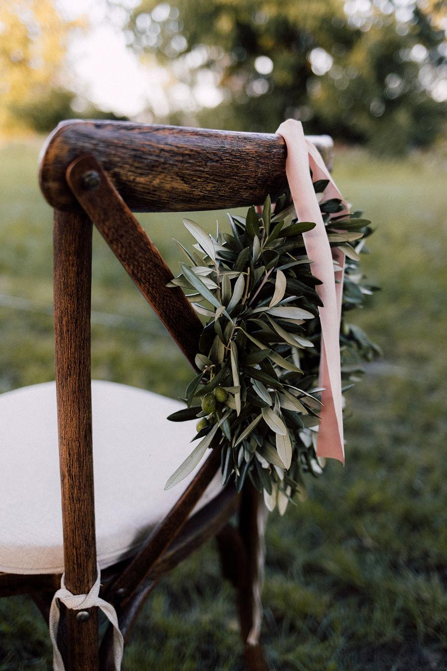Eine Hochzeit mit einer besonderen Dekoration