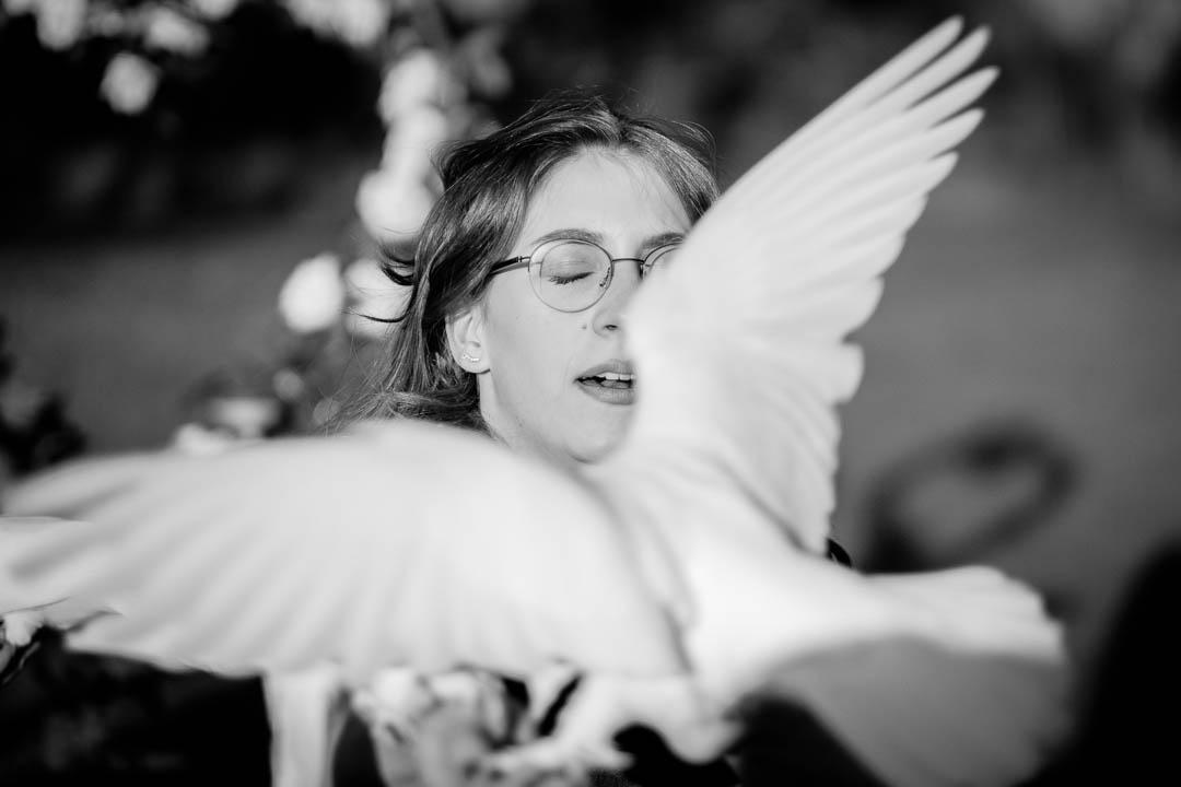 Beim Hochzeitsservice die Tauben buchen