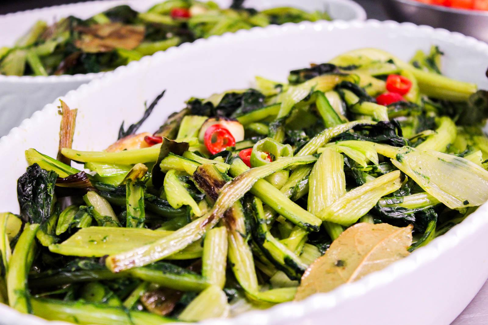 frisches Gemüse für den Business-Lunch