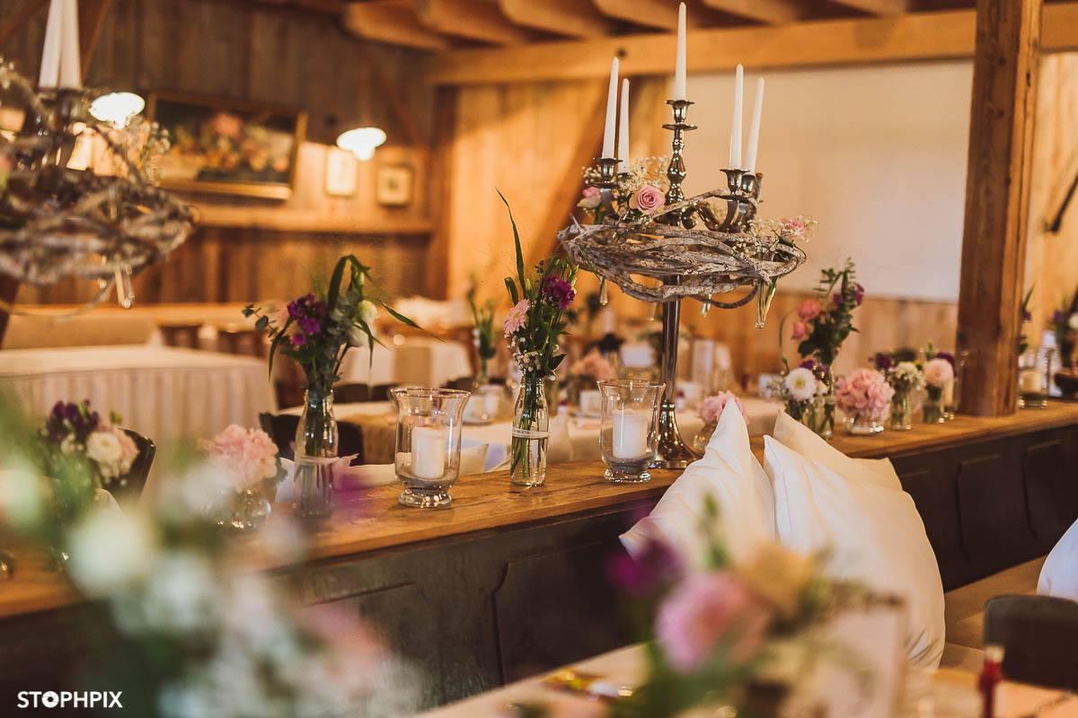 Unser Catering für diese Hochzeitslocation