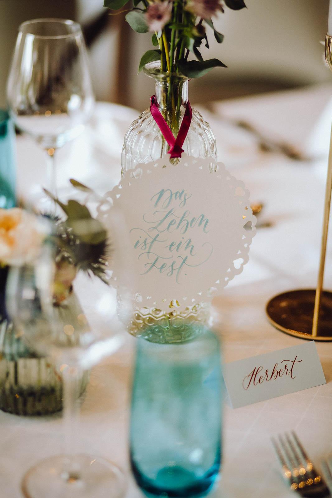 Die Hochzeitsfarbe ist euer Leitfaden