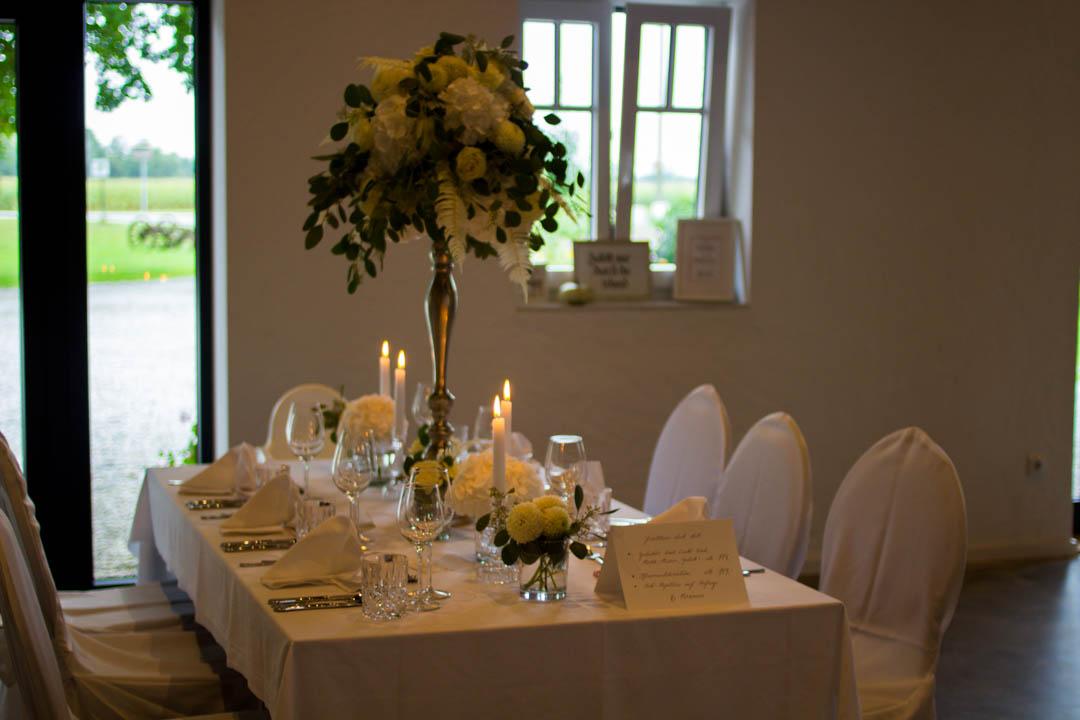 die klassische Hochzeit in weiß