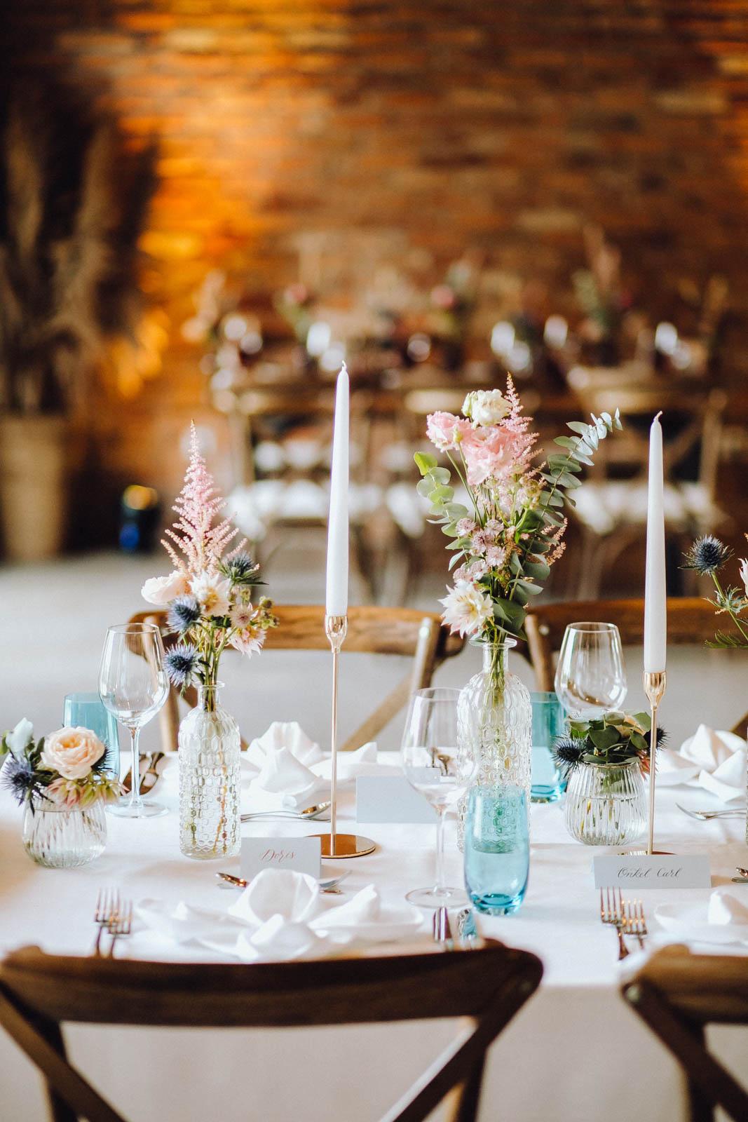 Hochzeits-Trendfarbe Rose Quartz & Serenity