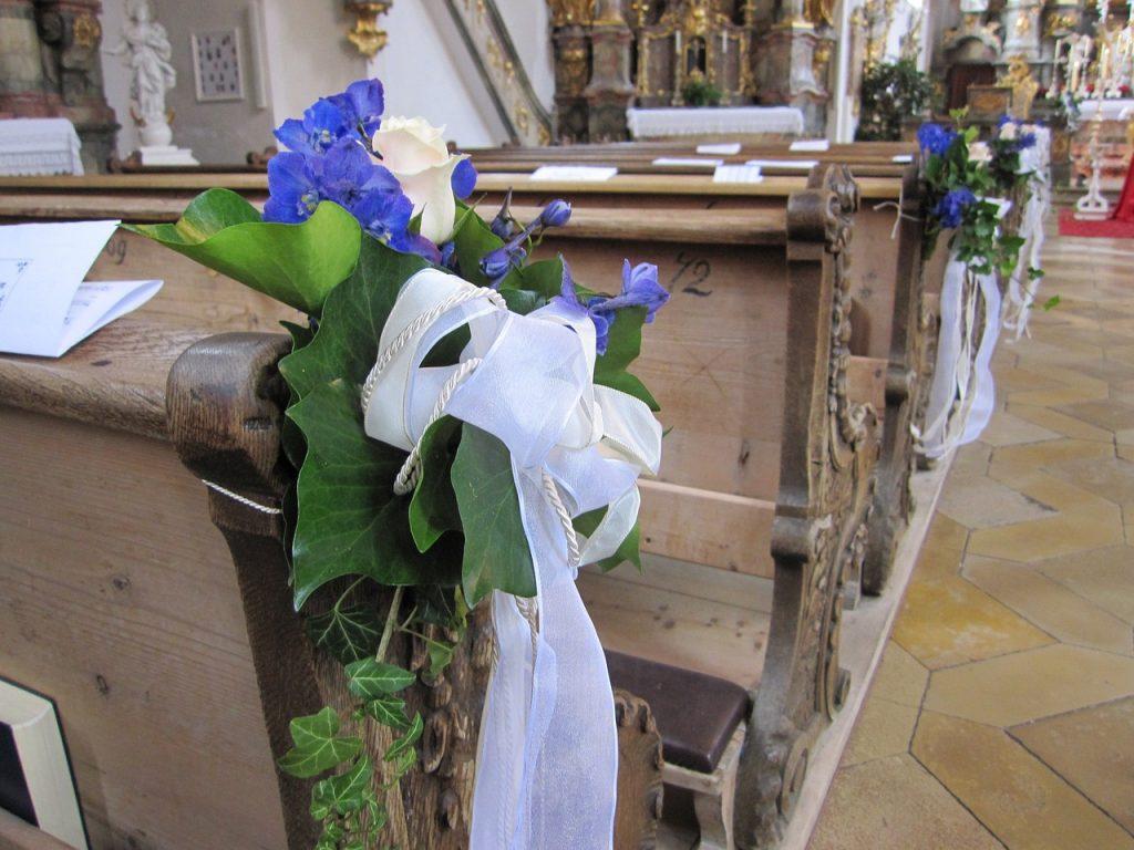 Die kirchliche Trauung in Eching