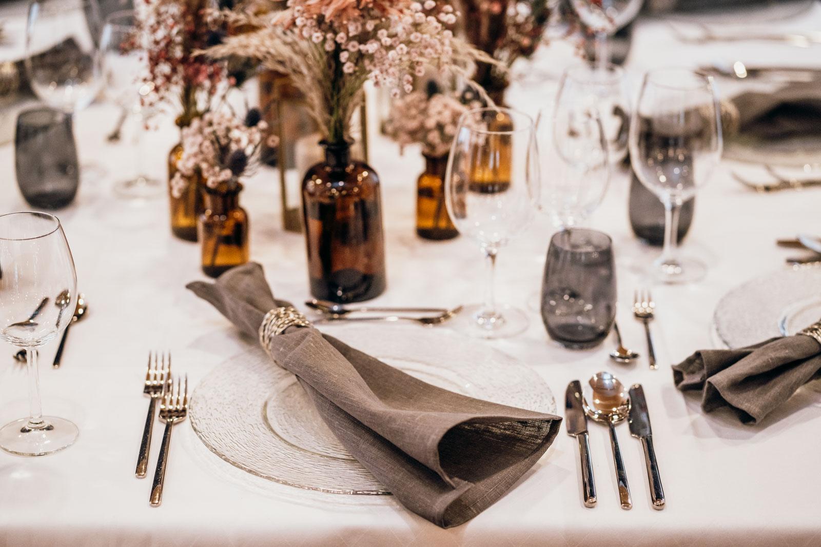 Hochzeitsfarbe grau