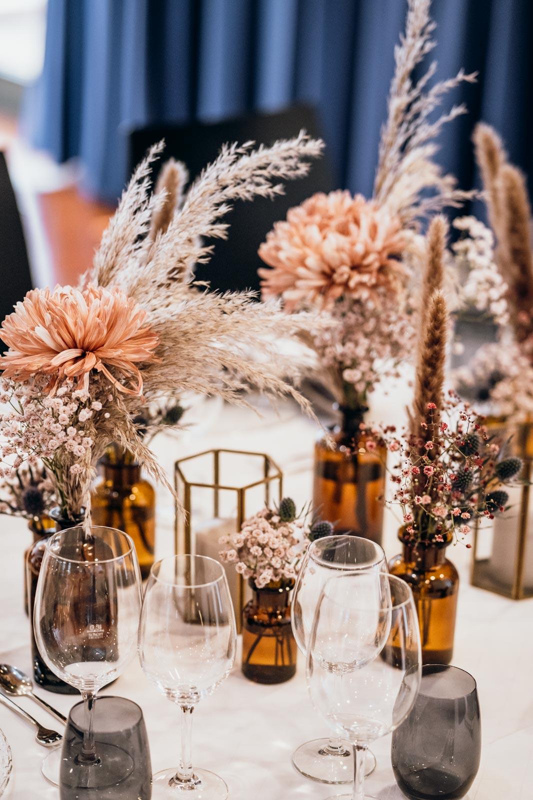 Hochzeitsfeier im Saal