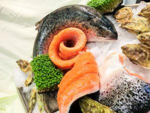 Bioqualität Lachs